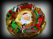 Christmas Eclair Wreath