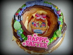 Easter Wreath Elcair