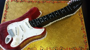 Guitar Cake Buttercream