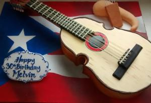 Ultra Custom Guitar Cake